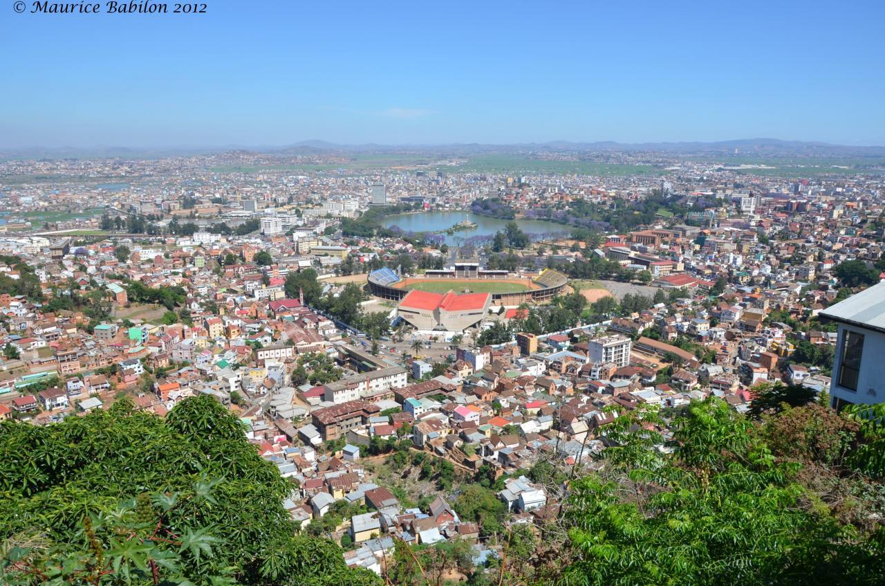 Antananarivo - Tana ou Tananarive la capitale