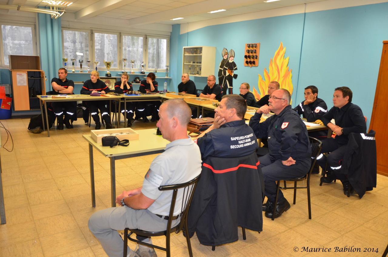 003 Formation NAC's , SDIS de Mulhouse le 13 Mai 2014
