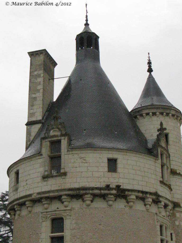 Val de loire.Château de Chenonceau , sur le cher