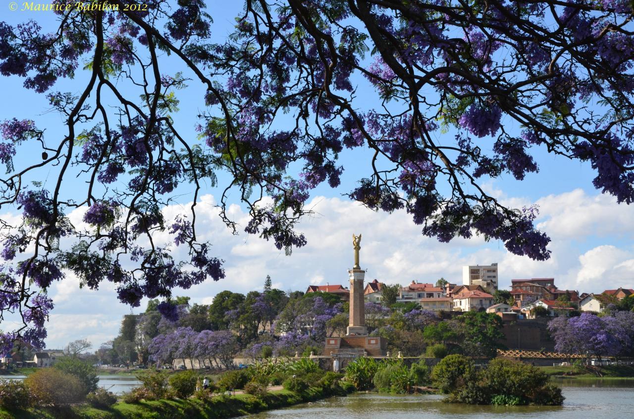 La ville de Tananarive