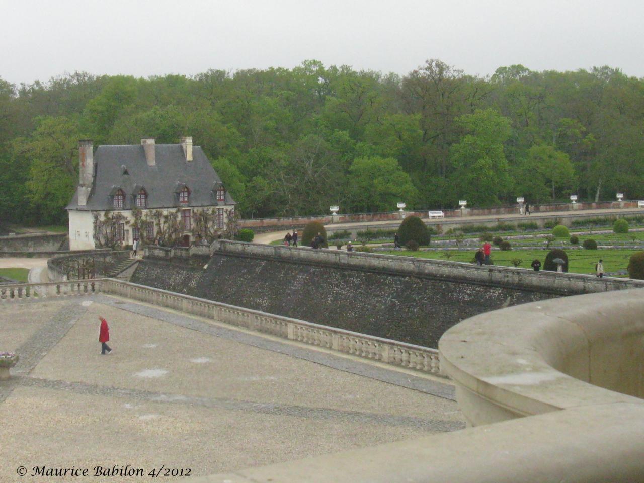 Val de loire.Château de Chenonceau, un des plus beaux de France