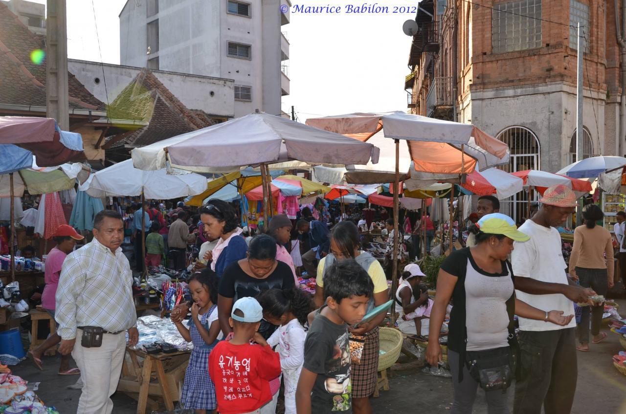 Tana et son marché