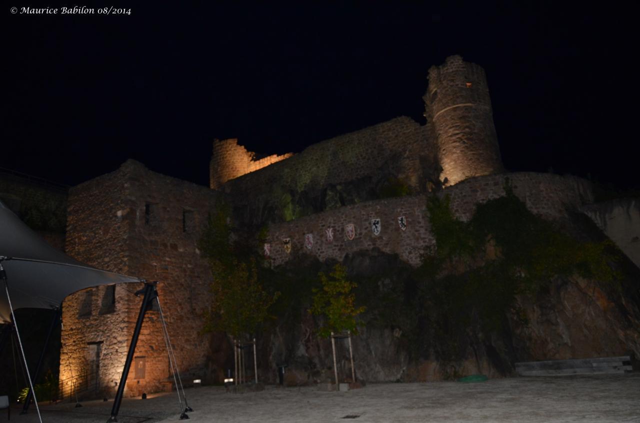 Château du Hohlandsburg ( l'An 1279) , région de Colmar Wintzenheim