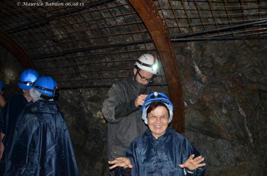 Visite des mines Tellure du Val d'Argent , St. Marie aux Mines