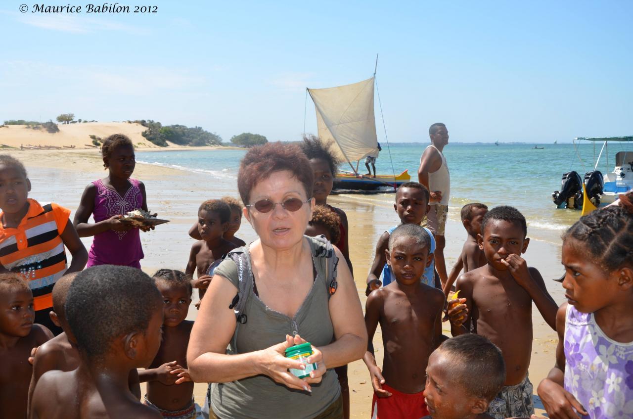 Plage d'Ifaty sud de Madagascar