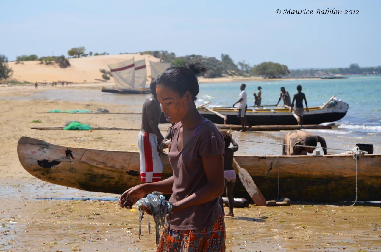Village de pêcheurs région d'Ifaty