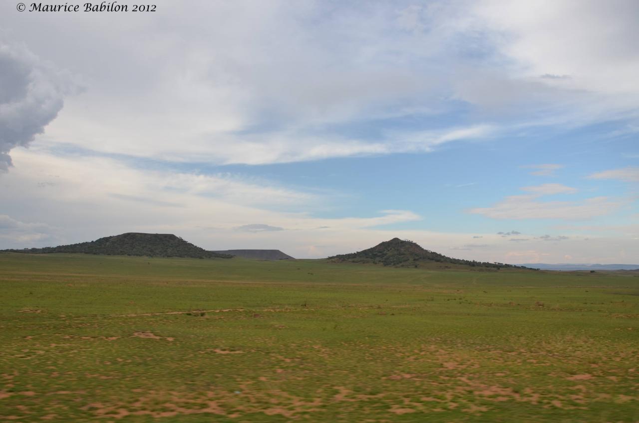 En route pour le parc national de l'Isalo