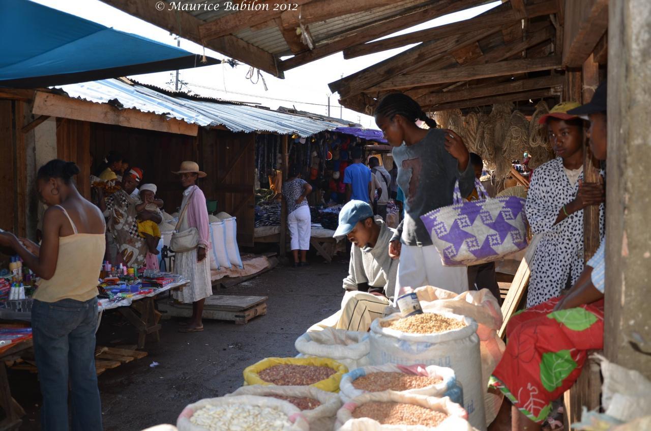 Nous voilà arrivé dans la ville de Fianarantsoa
