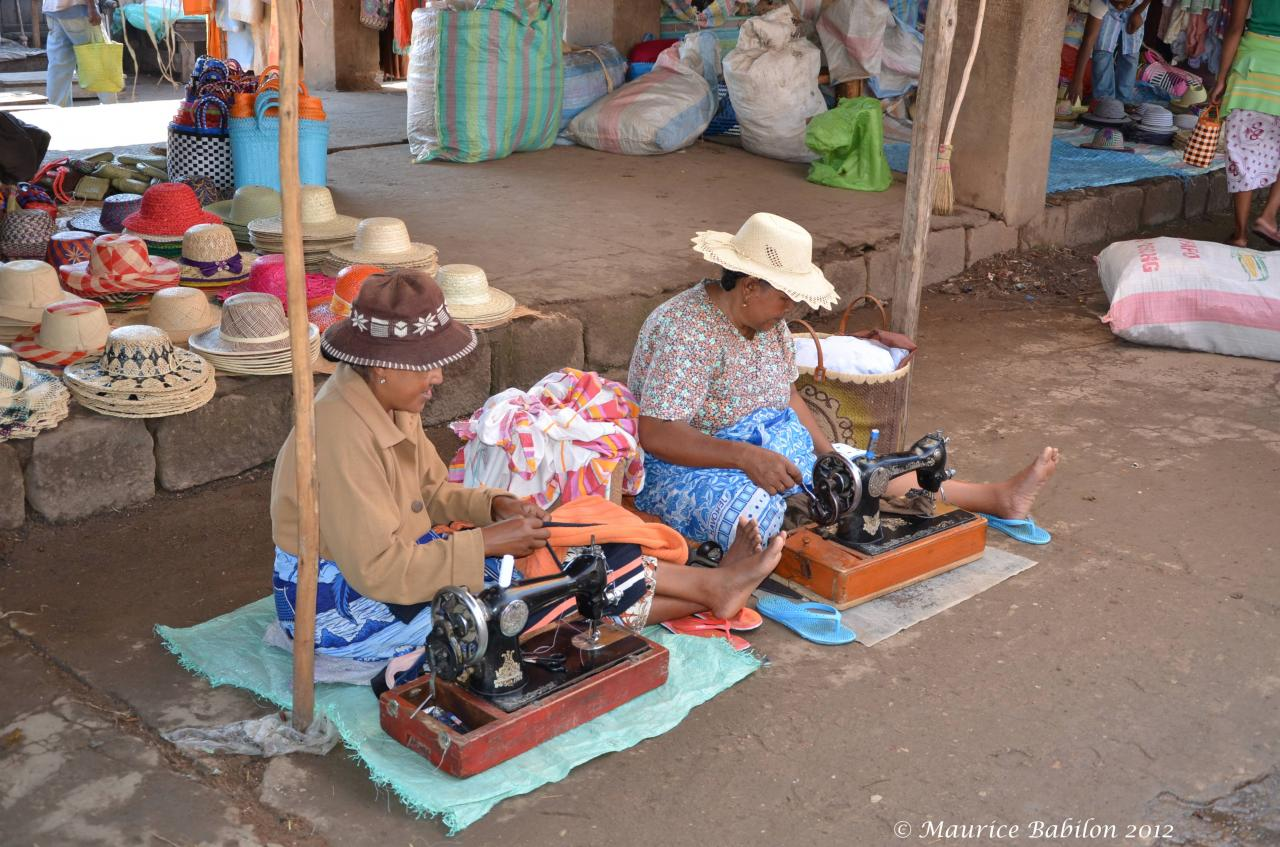 Visite et achats au marché de Fianarantsoa