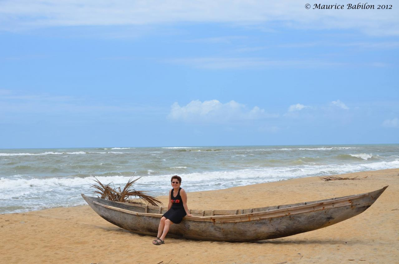 Océan Indien , région de Mananjary