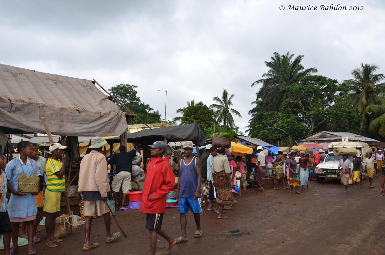 Région de Ikongo dans le Sud-est
