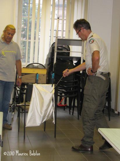 Formation NAC's pour le CNFPT , Brigade Verte du Haut-Rhin , les 5 et 6 Octobre 2010 à Soultz