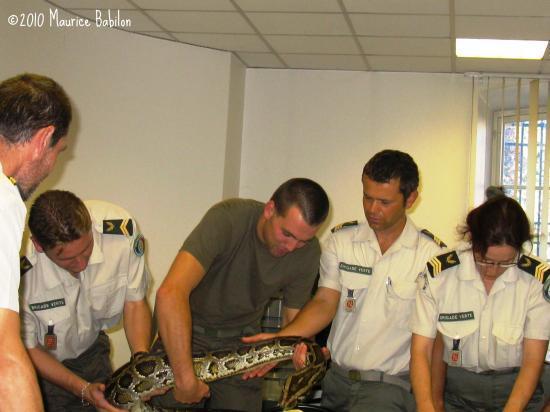 Formation NAC's à Soultz au siège de la Brigade Verte le 06 Octobre 2010