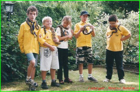 Contact nature avec les Scouts 24.08.1999