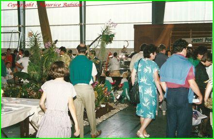 Exposition Exotic 1989 & 1990 au COSEC de Lutterbach