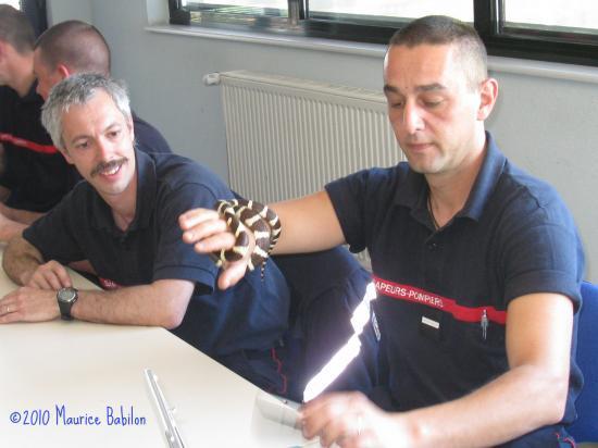 Formation NAC's aux Sapeurs Pompiers , SDIS de Belfort  le 05.06.2010