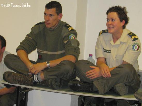 Formation NAC's du 12 Octobre 2010 , locaux de la Brigade Verte à Soultz
