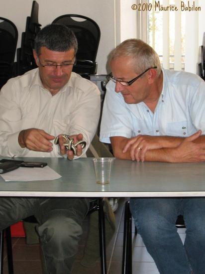 Quatrième session NAC ' s  le 13 Octobre 2010 , Brigade Verte du Haut-Rhin à Soultz