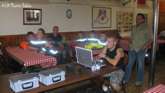 Stage sur les NAC's , formation basique avec les JSP de Morschwiller Le Bas le 28 Mai 2011