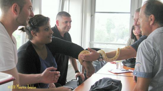 Colmar le 29 Juin 2011 , Formation CNFPT Police
