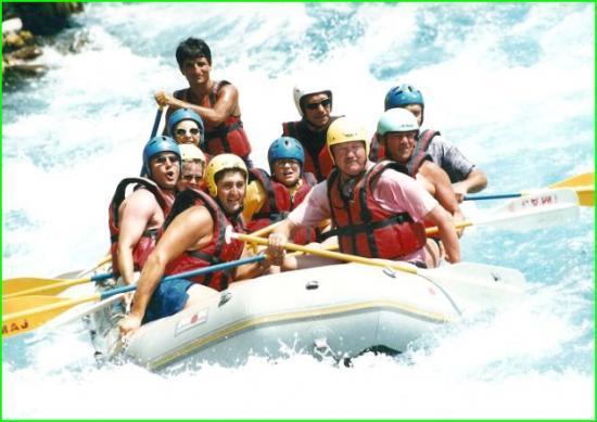 Rafting en Turquie