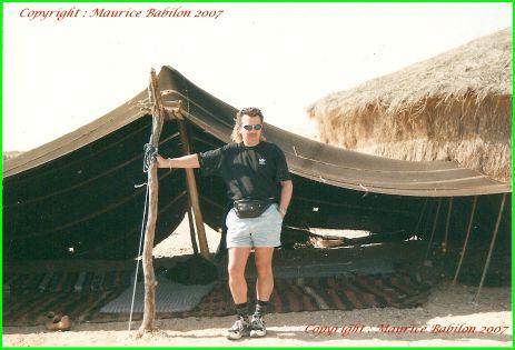 Dans le desert Libien